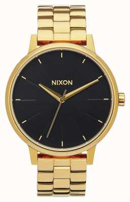 Nixon Kensington | All Gold / Black Sunray | Gold IP Bracelet | Black Dial A099-2042-00