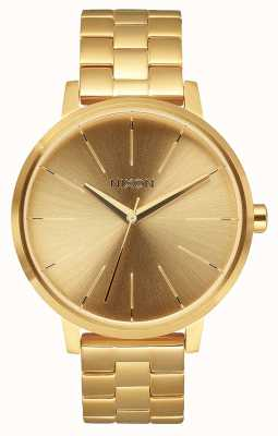 Nixon Kensington | All Gold | Gold IP Steel Bracelet | Gold Dial A099-502-00