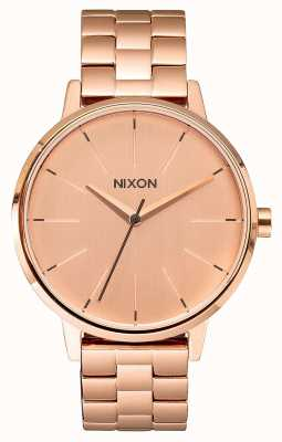 Nixon Kensington | All Rose Gold | Rose Gold IP Bracelet | Rose Gold Dial A099-897-00