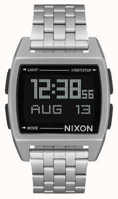Nixon Base | Black | Digital | Stainless Steel Bracelet | A1107-000-00