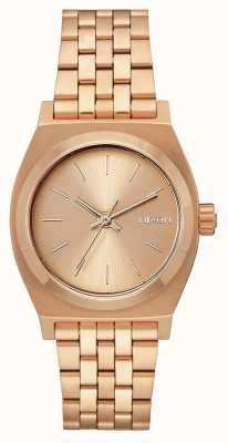 Nixon Medium Time Teller | All Rose Gold | Rose Gold IP Steel Bracelet | A1130-897-00