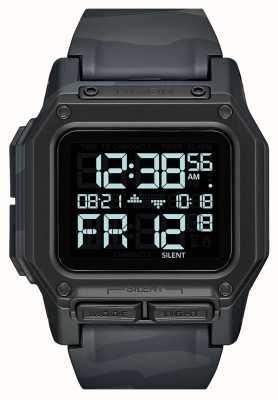 Nixon Regulus | Black Multicam | Digital | Multi coloured Camo TPU Strap A1180-3015-00