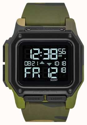 Nixon Regulus | Multicam Tropic | Digital | Multi Coloured Camo TPU Strap A1180-3175-00