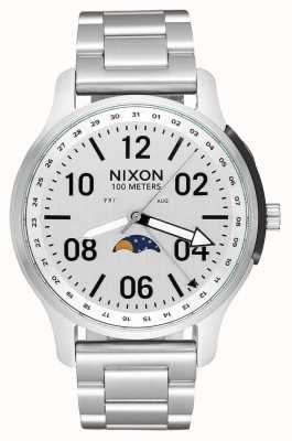 Nixon Ascender | All Silver | Stainless Steel Bracelet | White Dial A1208-1920-00