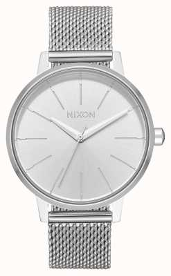 Nixon Kensington Milanese | All Silver | Stainless Steel Mesh | Silver Dial A1229-1920-00