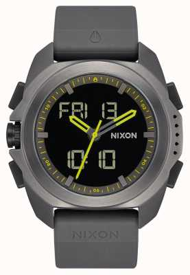 Nixon Ripley | Gunmetal | Digital | Gunmetal Grey TPU Strap | A1267-131-00