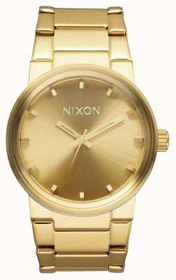 Nixon Cannon | All Gold | Gold IP Steel Bracelet | Gold Dial A160-502-00