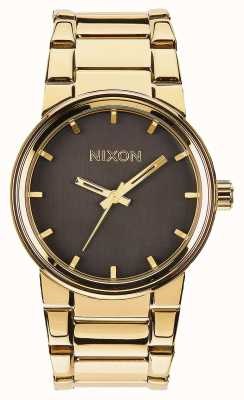 Nixon Cannon | All Gold / Black | Gold IP Steel Bracelet | A160-510-00