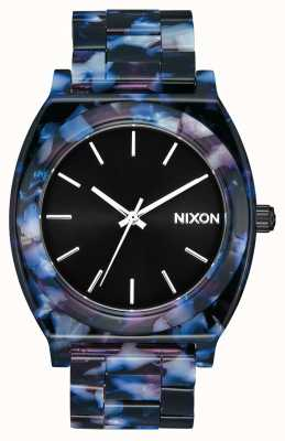 Nixon Time Teller Acetate | Black / Multi | Black Dial A327-2336-00