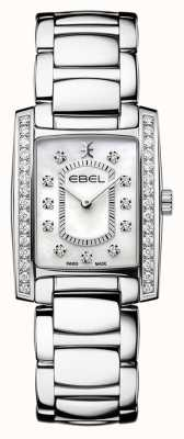 EBEL Women's Brasilia | Stainless Steel Bracelet | Mother Or Pearl Dial 1216463