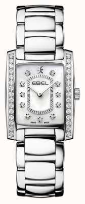 EBEL Women's Brasilia | Stainless Steel Bracelet | Mother Or Pearl Dial 1216463