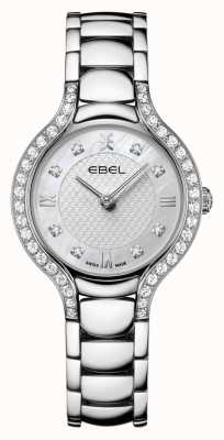 EBEL Women's Beluga | Stainless Steel Bracelet | Mother Of Pearl Dial | Diamond Set 1216465