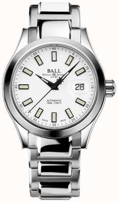 Ball Watch Company Engineer III Marvelight | Stainless Steel | White Dial NM2026C-S10J-WH