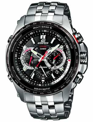 Casio Edifice Wave Ceptor Pilots Model EQW-M710DB-1A1ER