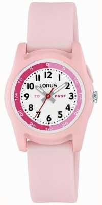 Lorus Lorus Kids Time Teacher With Pink Silicone Strap R2357NX9