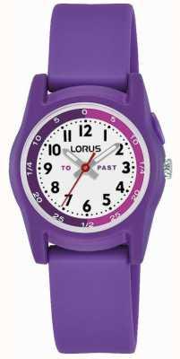 Lorus Lorus Kid's Time Teacher With Purple Silicone Strap R2359NX9