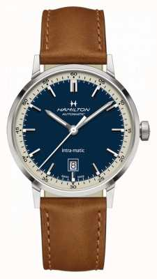 Hamilton American Classic |  Intra-Matic Automatic | Brown Leather H38425540