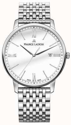 Maurice Lacroix Men's Eliros | Stainless Steel Bracelet | Silver Dial EL1118-SS002-113-2