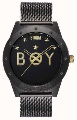 STORM Boy Star Slate | Limited Edition | Slate Mesh Bracelet 47484/SL