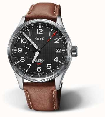 ORIS 56th Reno Air Races | Limited Edition | Brown Leather Strap 01 748 7710 4184-SET