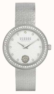 Versus Versace | Women's | Lea | Stainless Steel | Mesh Bracelet | Silver Dial | VSPEN1420