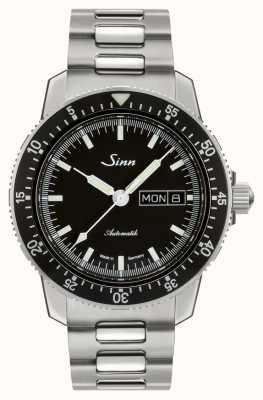 Sinn 104 St Sa I, Classic Pilot Watch Two-Link Bracelet 104.010-BM1040104S