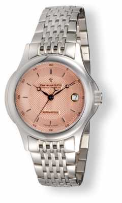 Dreyfuss Men's Salmon Pink Dial Stainless Steel DGB00016/25