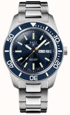Ball Watch Company Engineer Master II | Skindiver Heritage | Blue Dial | Stainless Steel Bracelet DM3308A-S1C-BE