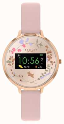Radley Series 03 Activity Tracker | Pink Leather Strap RYS03-2008