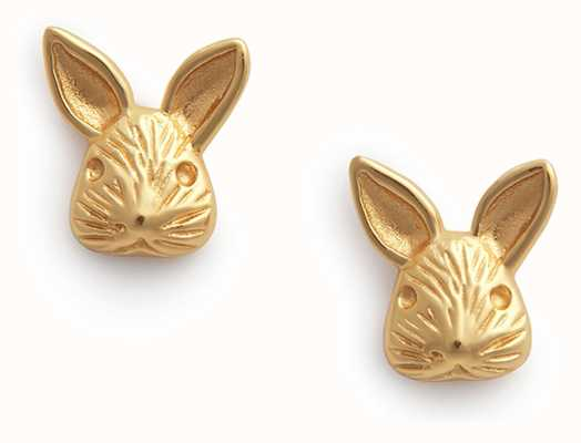 Olivia Burton 3D Bunny | Stud Earrings | Gold OBJAME109