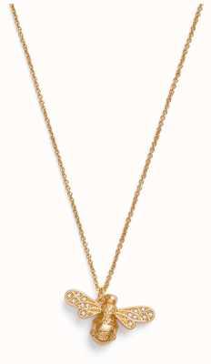 Olivia Burton Sparkle Bee | Gold Necklace OBJAMN58