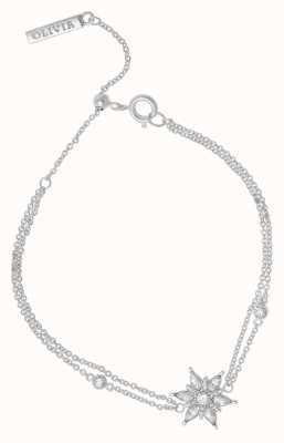 Olivia Burton Ice Queen | Silver Chain Bracelet OBJIQB01