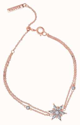 Olivia Burton Ice Queen | Rose Gold Bracelet OBJIQB07