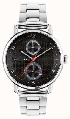 Ted Baker | Men's | Brixam | Stainless Steel Bracelet | Black Dial | BKPBXF009