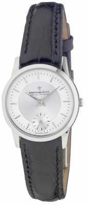 Dreyfuss Womens Black Leather Strap Watch DLS00001/02