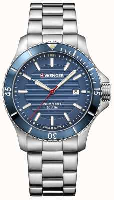 Wenger Seaforce | Blue Dial | Stainless Steel Bracelet 01.0641.120