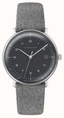 Junghans Max Bill Damen Quartz | Plexiglass | Grey Fabric Strap 047/4542.04