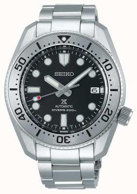 Seiko PROSPEX 1968 Reinterpretation | Stainless Bracelet | Black Dial | Sapphire Glass SPB185J1