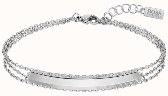 BOSS Jewellery Womens Insignia | Stainless Steel | Bracelet 1580022