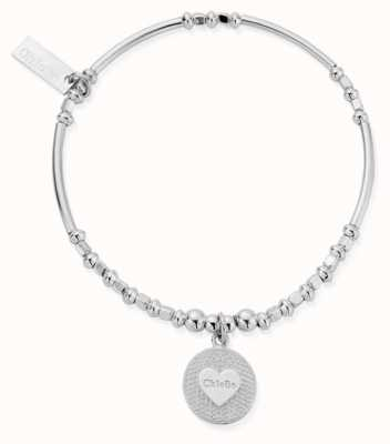 ChloBo | Circle Of Love Bracelet | Sterling Silver | SBBLKFRI20