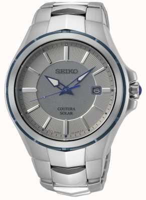 Seiko Coutura | Stainless Steel Bracelet | Grey/Silver Dial SNE565P9