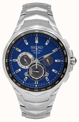 Seiko Coutura | Stainless Steel Bracelet | Blue Dial SSC749P1
