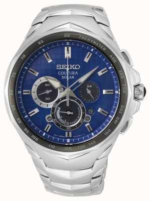 Seiko Coutura   Stainless Steel Bracelet   Blue Dial SSC749P1