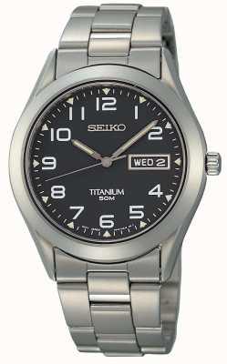 Seiko Mens Titanium SGG711P9