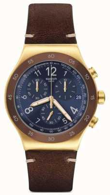 Swatch Men's Vini Chronograph Watch YVG408