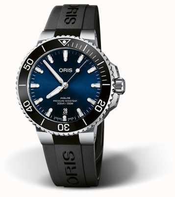 ORIS Mens Blue Dial Oris Aquis Date 41.5mm 01 733 7766 4135-07 4 22 64FC