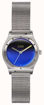 STORM Sian Lazer Blue | Steel Mesh Bracelet | Blue Dial 47485/LB