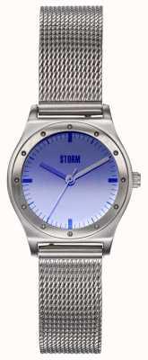 STORM Sian Lazer Violet | Steel Mesh Bracelet | Violet Dial 47485/V