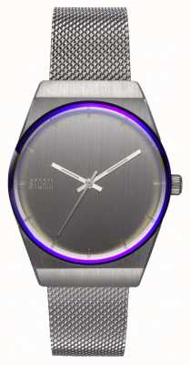 STORM Mini Cirero Silver | Steel Mesh Bracelet | Silver Dial 47486/S