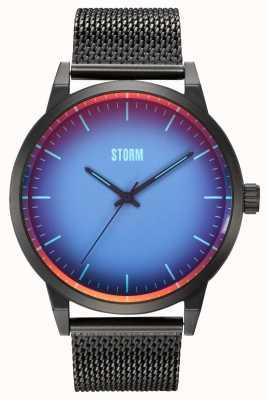 STORM Styro Slate Blue | Slate Grey Steel Mesh Strap 47487/SL/B